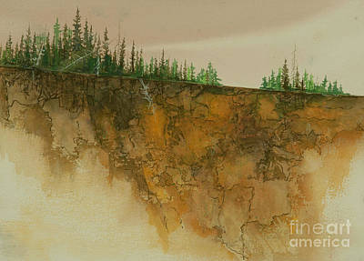 Painting - Timberline by Pati Pelz