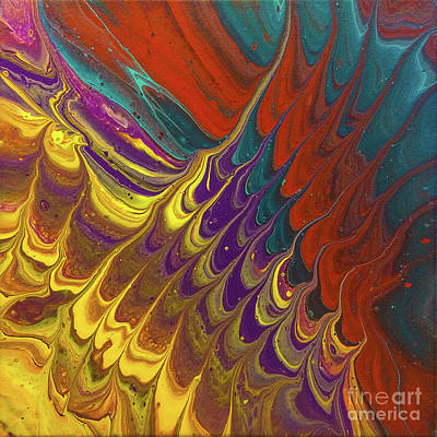 Painting - Timbral Strata 1 by Lon Chaffin