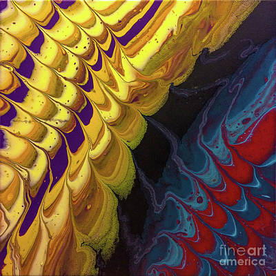Painting - Timbral Strata 2 by Lon Chaffin