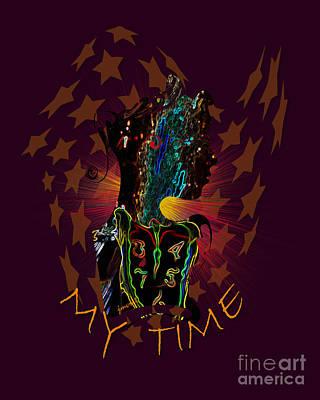 Extraordinary Time M1 Art Print by Johannes Murat