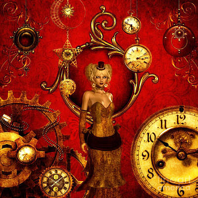 Time After Time Art Print by Putterhug Studio