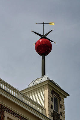 Photograph - Time Ball Going Up by Shirley Mitchell