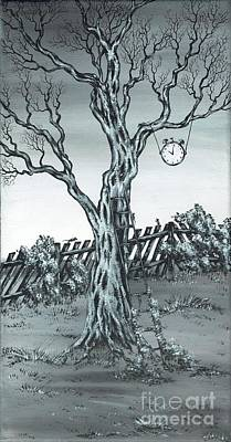Painting - Time Bandits by Kenneth Clarke