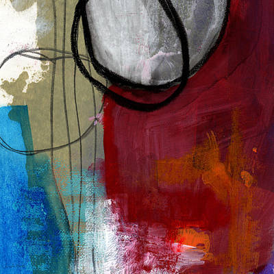 Modern Abstract Mixed Media - Time Between- Abstract Art by Linda Woods