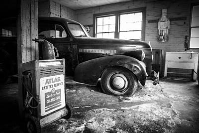Photograph - Old Car - Blue Ridge Mountains by Victor Ellison