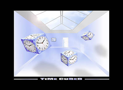 Time Cubed Art Print by Mike McGlothlen