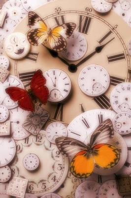 Time Flies Print by Garry Gay