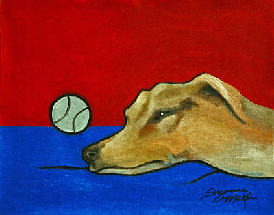 Painting - Time For A Power Nap by Suzanne McKee