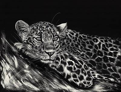 Drawing - Time For A Rest by Zilpa Van der Gragt