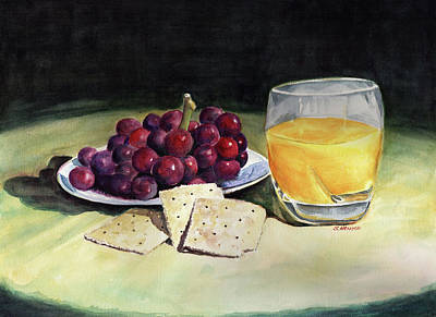 Painting - Time For A Snack by Sue Henson