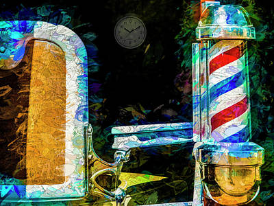 Abstract Digital Photograph - Time For A Trim by Paul Wear