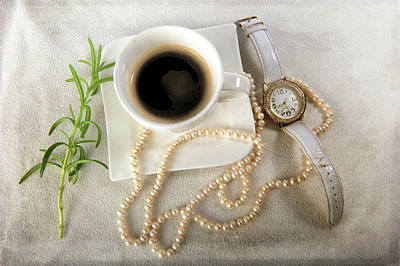 Photograph - Time For Coffee by Randi Grace Nilsberg