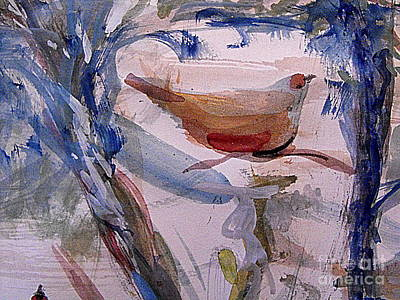 Painting - Time For Nesting by Nancy Kane Chapman