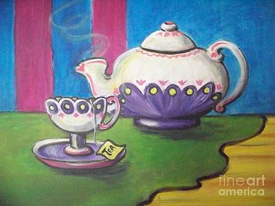 Painting - Time For Tea by Deborah Smith