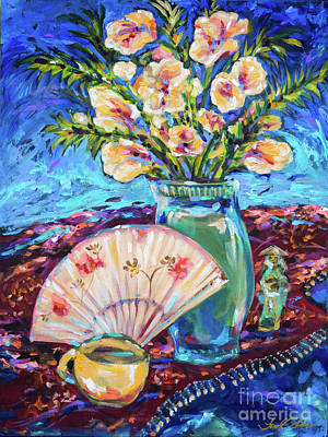 Painting - Time For Tea by Linda Olsen