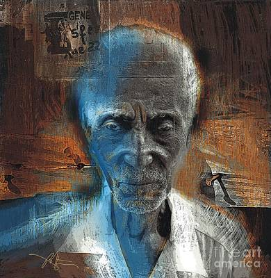 Haitian Painting - Time Goes By by Bob Salo