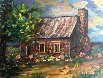Painting - Time Gone By by Patsy Walton