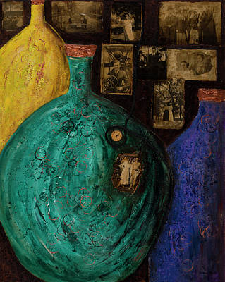 Painting - Time In A Bottle by Diana Wade