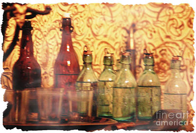 Photograph - Time In A Bottle by Lori Mellen-Pagliaro