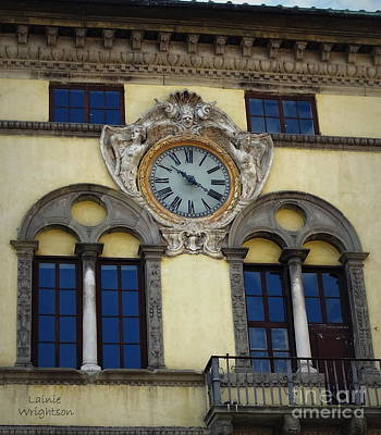 Time In Lucca Art Print