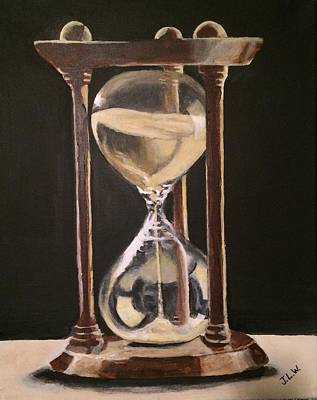 Painting - Time Is Fleeting by Justin Lee Williams