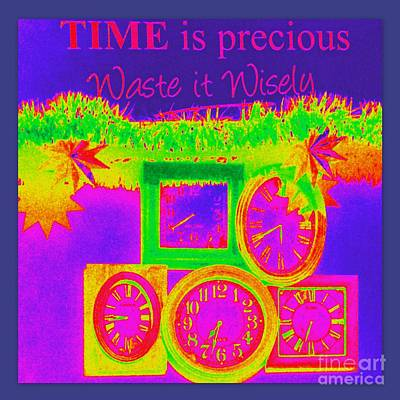Photograph - Time Is Precious by Linda Prewer