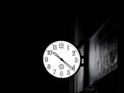 Time Is Slipping Away Art Print