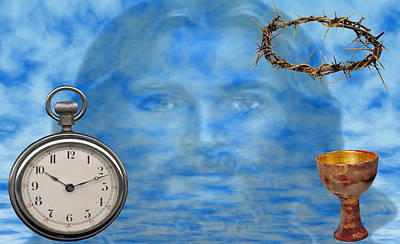 Time Is Ticking Art Print by Evelyn Patrick