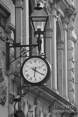 Old Montreal Photograph - Time by Kayla Mackay