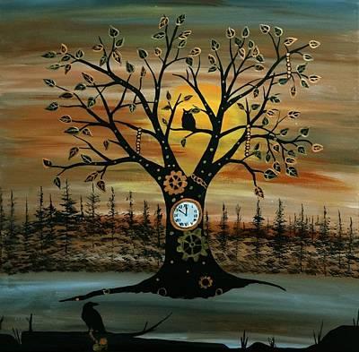 Time Keeper Original by Rachel Olynuk