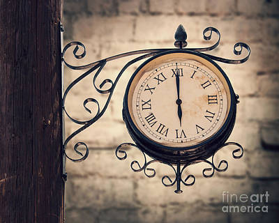 Woden Wall Art - Photograph - Time Machine by Delphimages Photo Creations