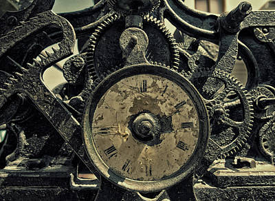 Steampunk Royalty-Free and Rights-Managed Images - Time Machine by Philip Openshaw