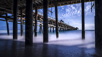 San Clemente Beach Photograph - Time Machine by Sean Foster