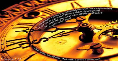 Time Management Art Print