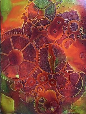 Painting - Time Marches On by Suzanne Canner