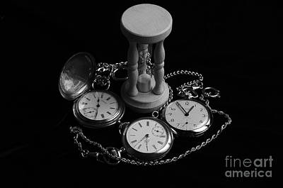 Steampunk Photograph - Time On Velvet 2 by Angelo DeVal