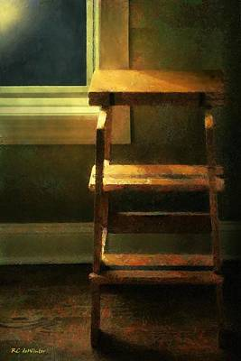 Painting - Time Out Corner by RC deWinter