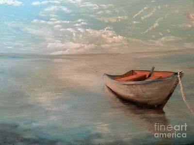 Jenna Thomas Wall Art - Painting - Time Out by Jennifer  Thomas