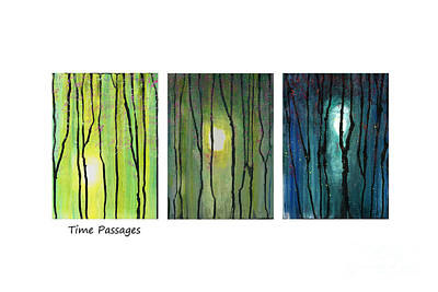Mixed Media - Time Passages by Cyndi Lavin