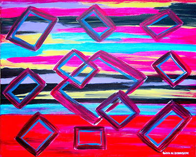 Painting - Time Passages  by Gina Nicolae Johnson