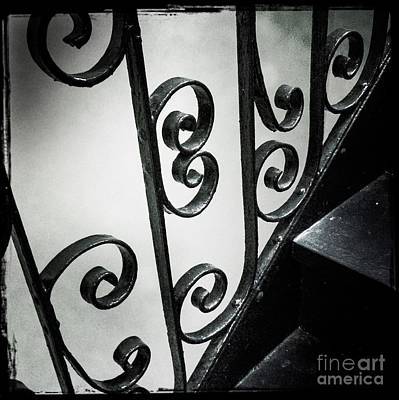 Photograph - Time Passages. Stairway For 100 Years. by Miriam Danar