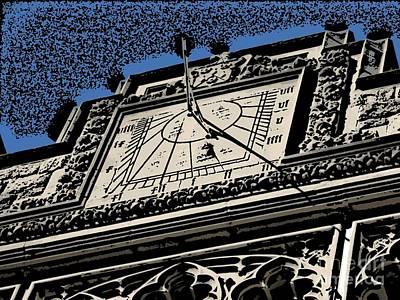 Time Piece Comic Print by Roxy Riou