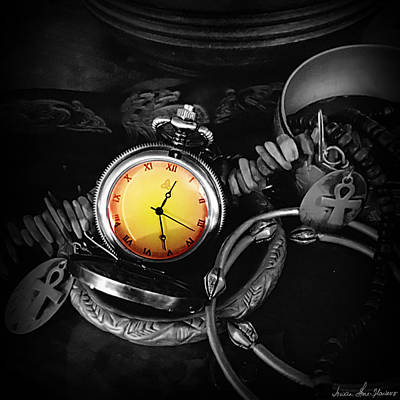Photograph - Time Piece by Iowan Stone-Flowers
