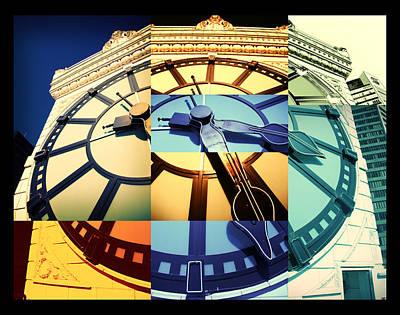 Photograph - Time Pieces by Julius Reque