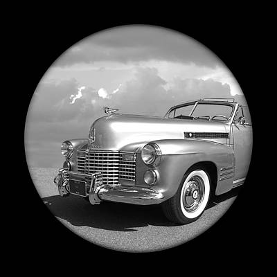 Photograph - Time Portal - '41 Cadillac by Gill Billington