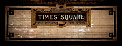 Photograph - Time Square by RicharD Murphy