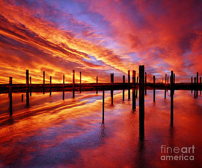 Dreamscape Photograph - Time Stands Still by Jacky Gerritsen