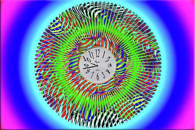 Digital Art - Time Time Time by John Haldane
