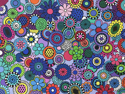 Painting - Time To Bloom by Beth Ann Scott