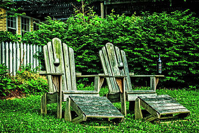 Photograph - Time To Chill by Debra and Dave Vanderlaan
